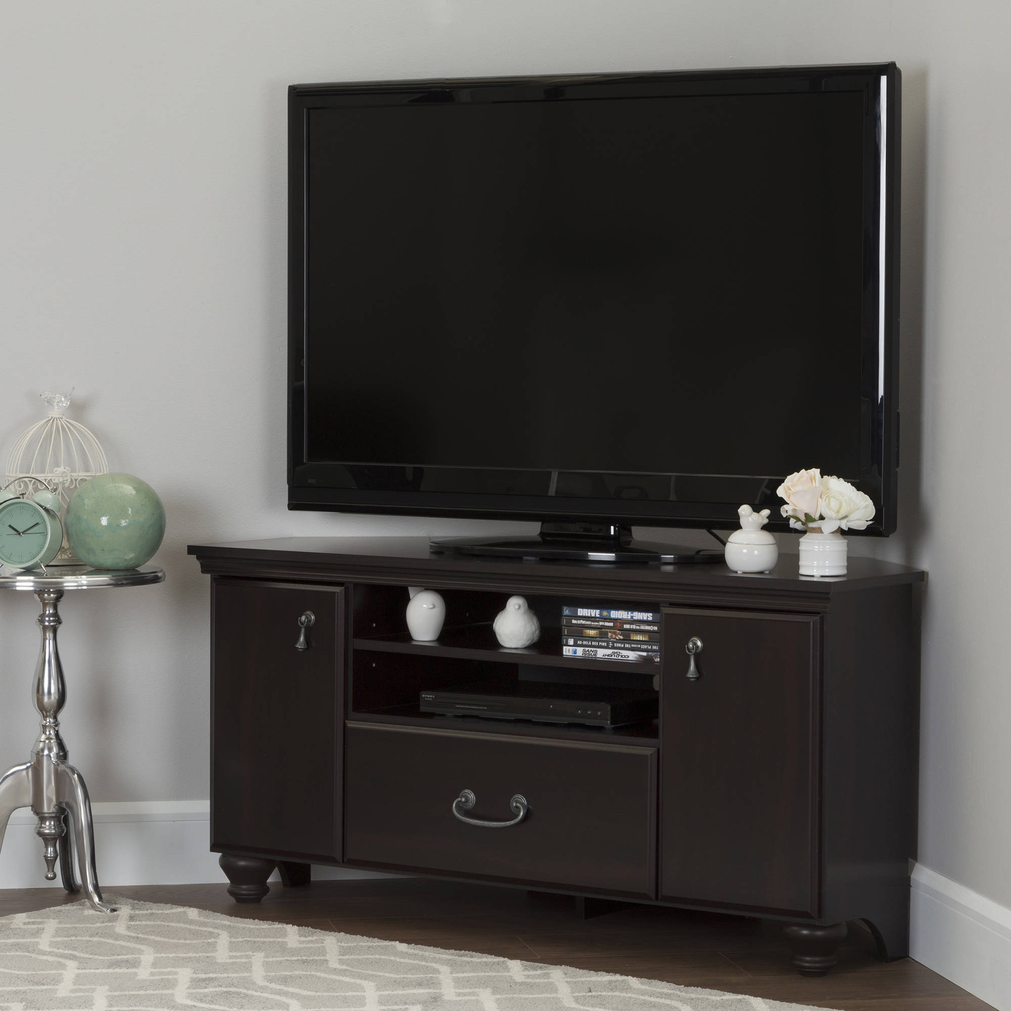 South Shore Noble Corner TV Stand for TVs up to 60'' in Multiple Finishes