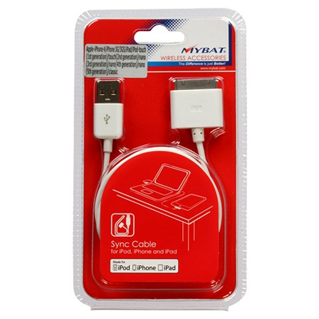 30 Pin USB Sync Adapter Cable for iPad 1 2 3 iPhone 3G 4 (3 Pin To 4 Pin Fan Adapter Pwm)