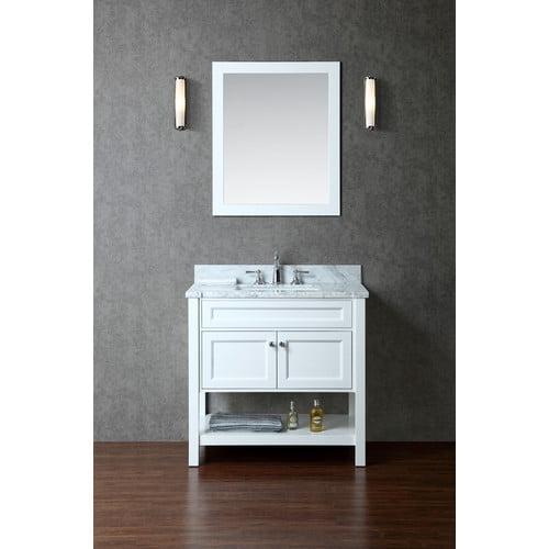 Ariel Bath Mayfield 36'' Single-Sink Bathroom Vanity Set with Mirror