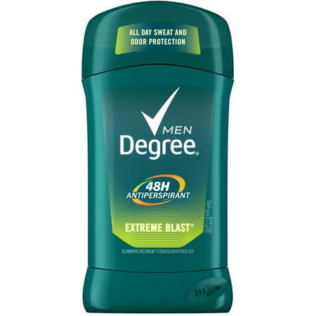 - 2 Pack - Degree Men Anti-Perspirant Deodorant Invisible Stick, Extreme Blast 2.70 oz