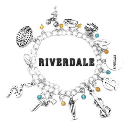 Riverdale TV Series Charm Bracelet w/Gift Box The CW Archie Comics Premium Cosplay Jewelry Series by Superheroes