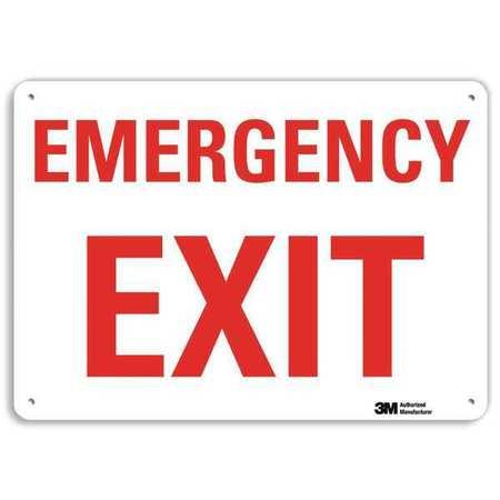 LYLE Safety Sign,Reflctv Alumi,10inH x 7inW, U7-1074-RA_10X7