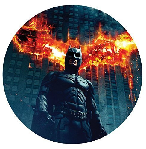Batman The Dark Knight Image Photo Cake Topper Sheet Birthday Party - 8 ROUND - 75652 by Sweet Cakes