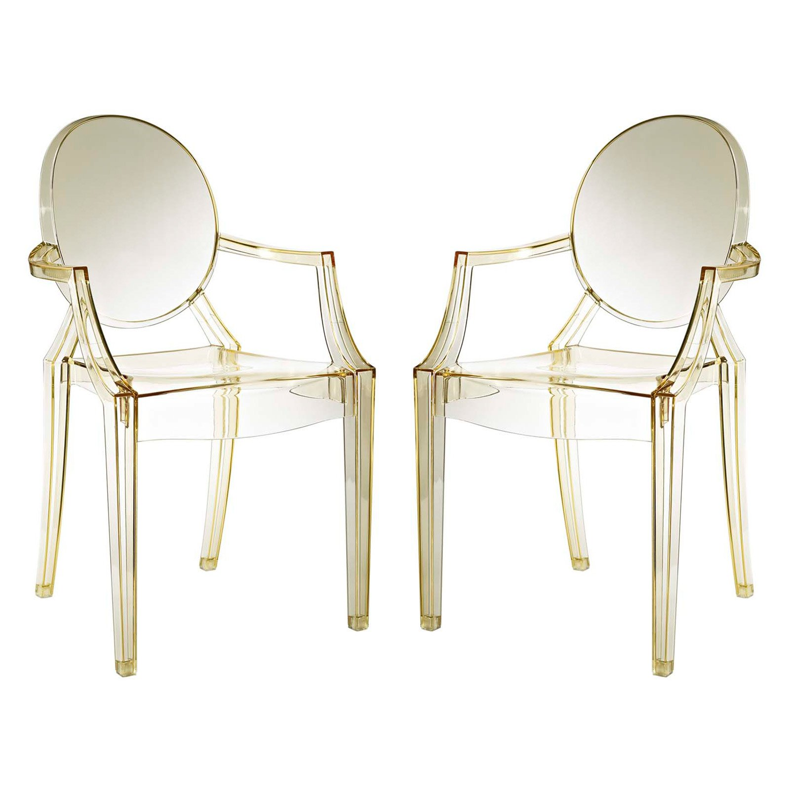 Modway Casper Dining Armchairs, Set of 2, Multiple Colors