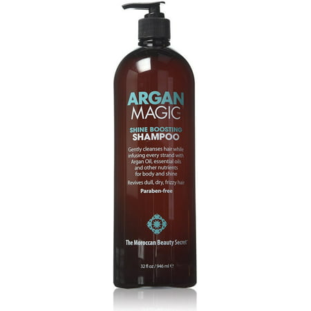 Argan Magic Shine Boosting Shampoo 32 Oz