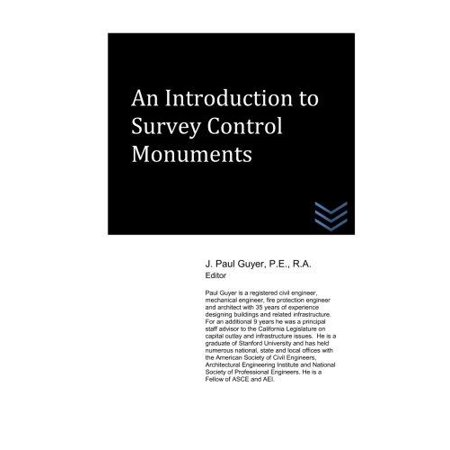 An Introduction To Survey Control Monuments