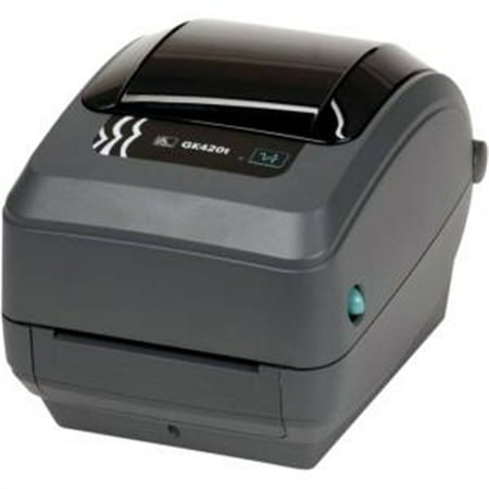 ZEBRA PRINTER - ZEBRA AIT,GK420T,203 DPI,THERMAL TRANSFER,EPL AND ZPL,USB,10/100 ETHERNET,6FT (Best Printer For Iron On Transfers)