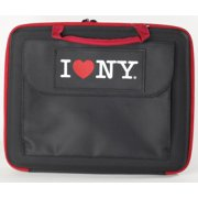 """Impecca Lap1160km Carrying Case For 11.6"""" Notebook - Black, Red (lap1160km)"""