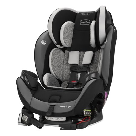 Evenflo EveryStage DLX All-in-One Car Seat, (Evenflo Momentum 65 Dlx Convertible Car Seat Reviews)