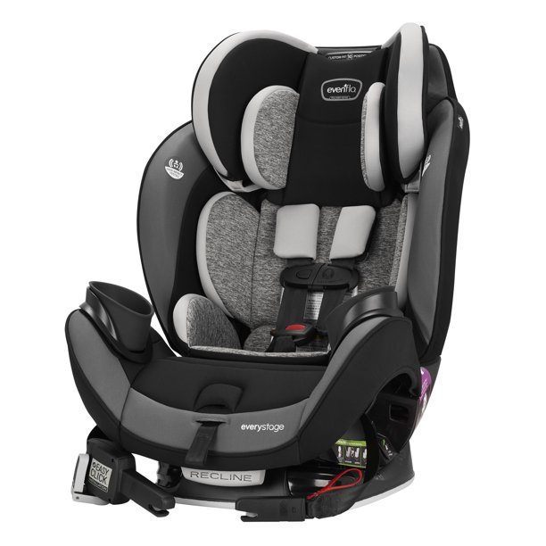 Evenflo EveryStage DLX All-in-One Car Seat, Canyons