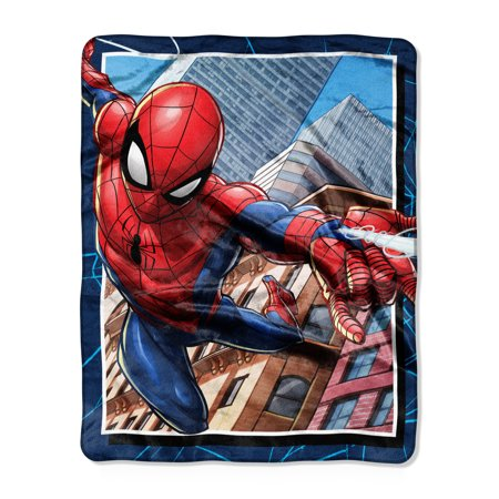 "Marvel Spider-Man ""Neighborhood Delivery"" Silk Touch Throw, 40""x50"""