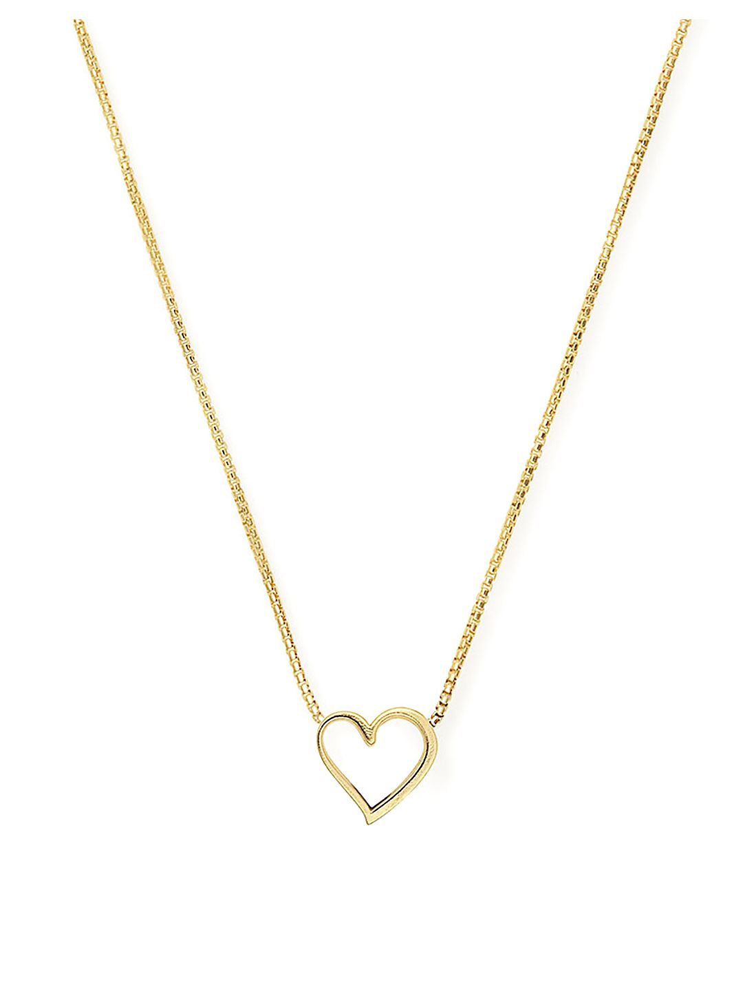 Valentine's Day Sterling Silver Heart Adjustable Necklace