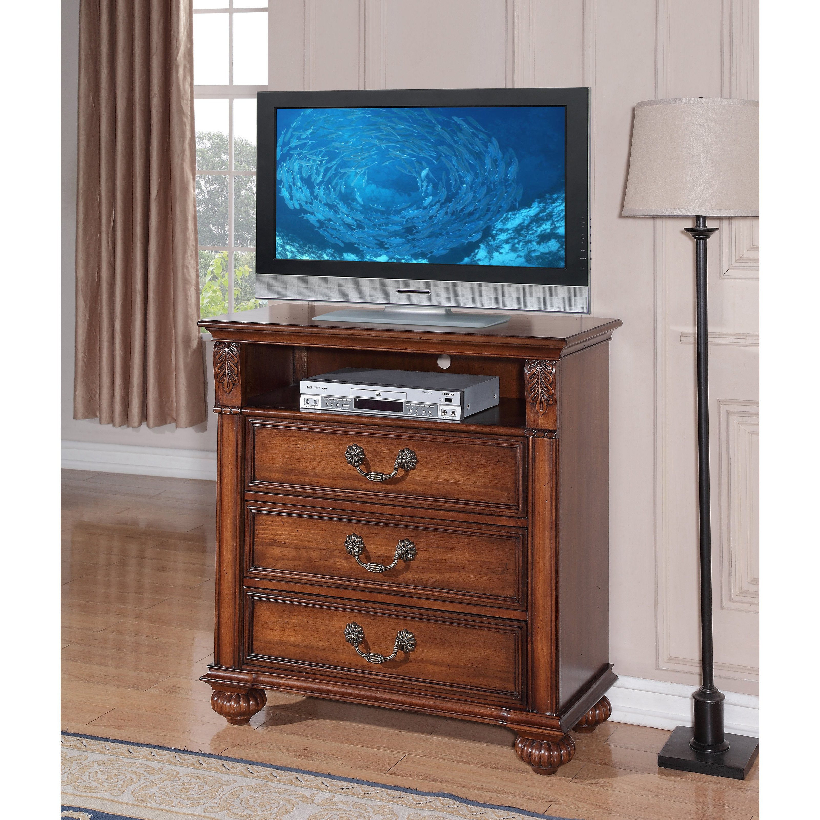 expand tv elements cherry to traditional with media chest white drawer drawers p cameron stand click international