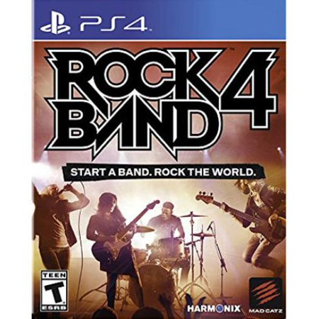 Rock Band 4 (PS4 software only) NLA, Mad Catz, PlayStation 4, 728658047511 for $<!---->