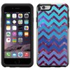 SKIN DECAL FOR OtterBox Symmetry Apple iPhone 6 Case - Nebula on Chevron Teal Blue DECAL, NOT A CASE OtterBox Symmetry iPhone 6 SKIN Nebula on Chevron Teal Blue