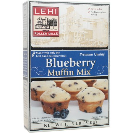 Lehi Roller Mills Blueberry Muffin Mix (Pack of 6)