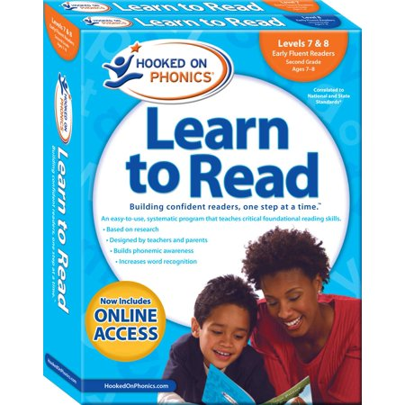 Hooked on Phonics Learn to Read - Levels 7&8 Complete : Early Fluent Readers (Second Grade | Ages 7-8) (Hooked On Phonics Readers)