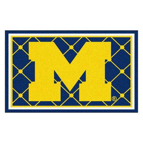 Sports Rug - University of Michigan  (4 ft. x 6 ft.)