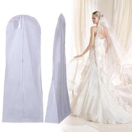 72'' Large Garment Dress Protectors Wedding Dress Bridal Gown Garment Dustproof Breathable Cover Storage Bag