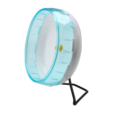 Unique Bargains Pet Hamster Gerbil Plastic Exercise Sport Play Stand Wheel Toy Holder Sky (Hamster Holder)