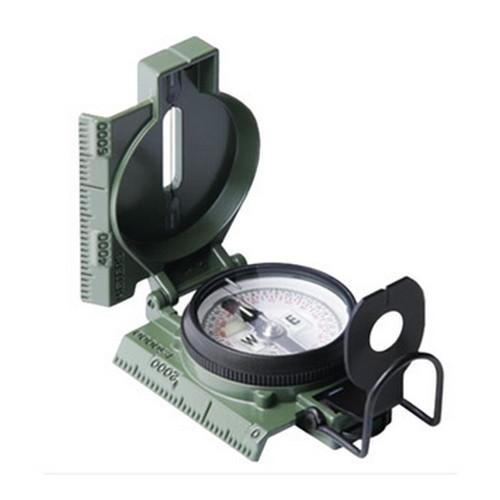 Phosphorescent Lensatic Compass, CP