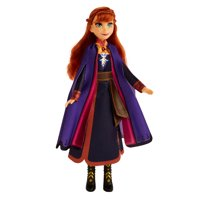 Disney Frozen 2 Singing Anna Musical Fashion Doll with Purple Dress