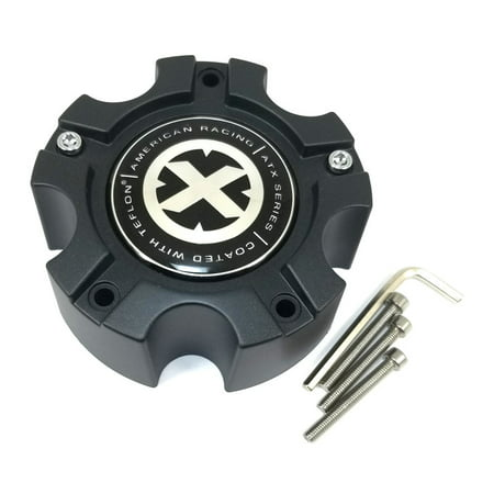 American Racing ATX Series Teflon Black 5-5/8