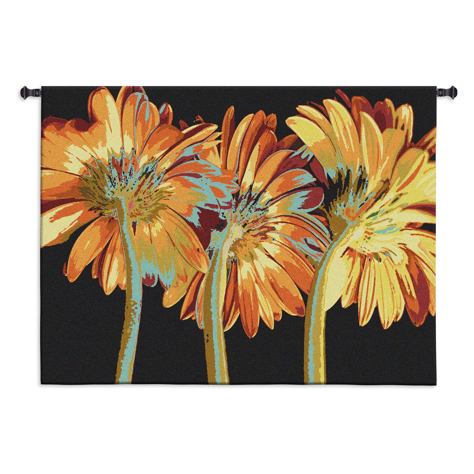 Fine Art Tapestries Miami Blooms Wall Tapestry by Supplier Generic