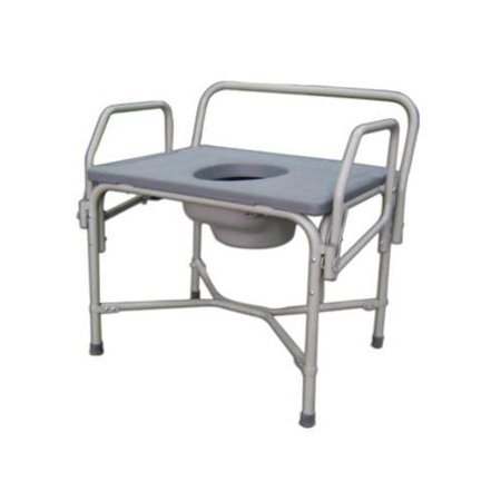Bariatric Droparm Commode Mds89668xw