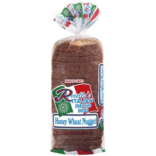 Rotella's Enriched Italian Honey Wheat Nugget Bread, 25 oz