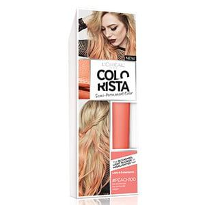 Colorista Semi Permanent Hair Color, Peach 1.0 ea(pack of 2)
