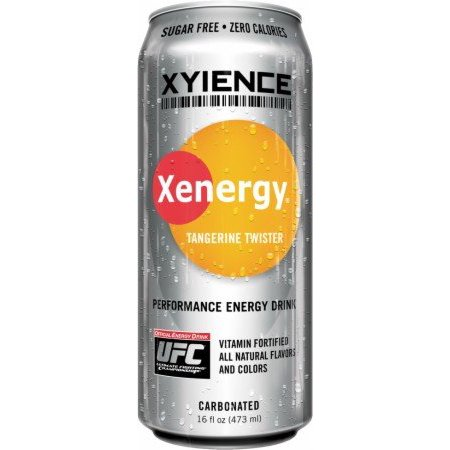 Xyience Xenergy Drink 12 16 Fl Oz Cans Tangerine