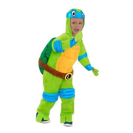 Boys TMNT Leonardo Jumpsuit Halloween Costume