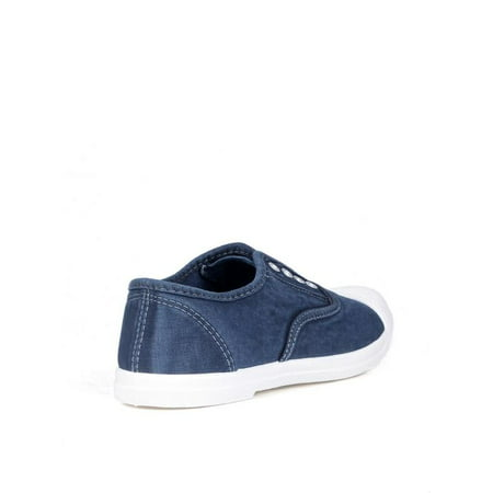 Nature Breeze Laceless Women's Sneakers in Navy