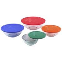 8-Piece Pyrex Smart Essentials Mixing Bowl Set