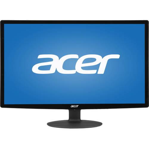 """Acer 24"""" LCD Widescreen Monitor (S240HL ABD Black), Manufacturer Refurbished"""