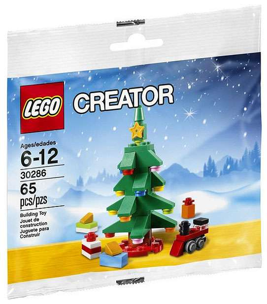 LEGO Christmas Tree Mini Set #30286 [Bagged]