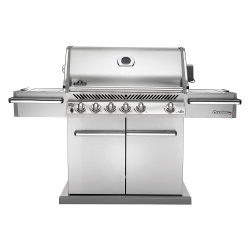 Napoleon Prestige Pro PRO600RSIB Grill with Rear Side Infrared Burner and Stainless Steel Doors