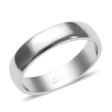 Rhapsody Bridal Wedding Band Ring 950 Platinum for Women Jewelry Gift