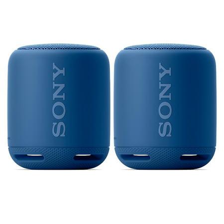 Sony SRS-XB10 Portable Wireless Bluetooth Stereo Speaker Bundle (Blue) ()