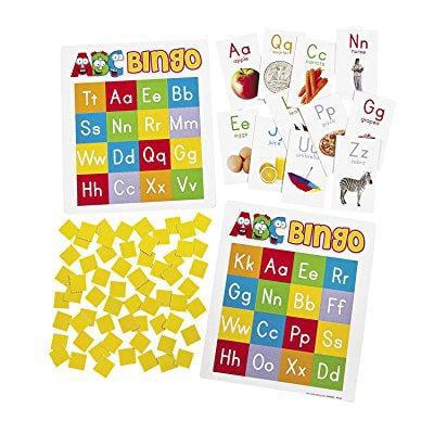 paper abc bingo game](Halloween Abc Bingo)