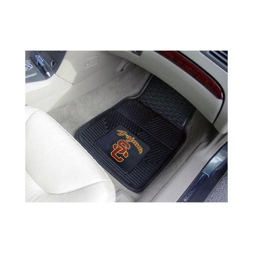 NCAA - USC TrojansHeavy Duty 2 Piece Vinyl Car Mats