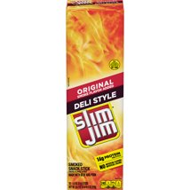 Jerky & Dried Meats: Slim Jim Deli Sticks