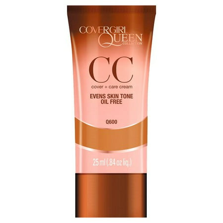 COVERGIRL Queen Collection CC Cream, Q600 Rich Sand, 0.84
