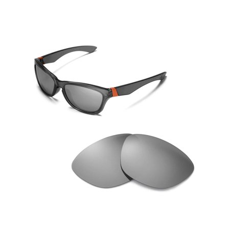 d6055b13e4 Walleva - Walleva Titanium Polarized Replacement Lenses for Oakley Jupiter  Sunglasses - Walmart.com