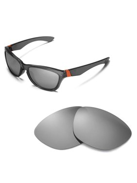 ea193253ea9 Product Image Walleva Titanium Polarized Replacement Lenses for Oakley  Jupiter Sunglasses