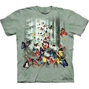 Butterflies Youth T-Shirt by The Mountain - 151625