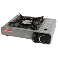 Coleman Camp Bistro 1-burner Butane Stove with Hard Carry Case, Gray