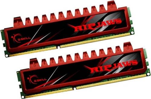 GSKILL F3-10666CL9D-8GBRL Ripjaws 8GB (2x4GB) DDR3 1333 Desktop Memory RAM