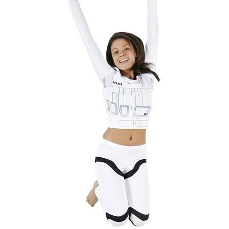 Star Wars Stormtrooper Top and Pants Costume Set